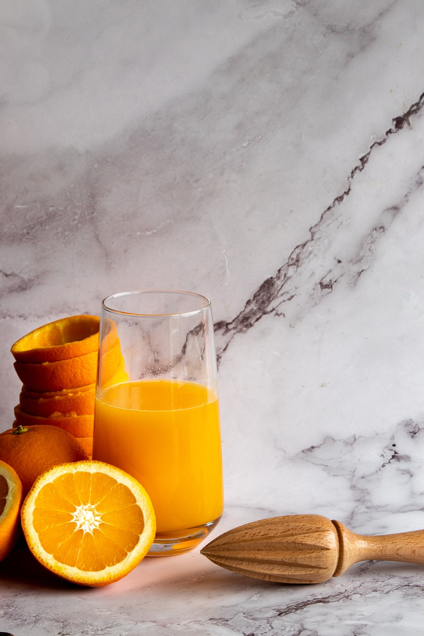 orange juice, orange, juice